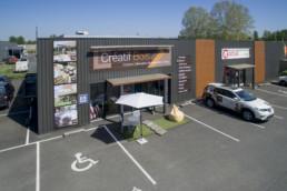 creatif bois showroom kolordrone drone aérien limousin nouvelle aquitaine philippe laurençon